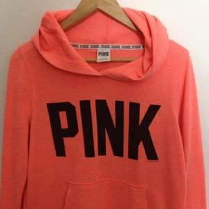 Victoria Secret VS Pink M Cotton Blend Hoodie